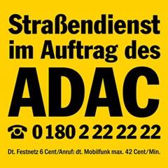 Straßendienst im Auftrag des ADAC