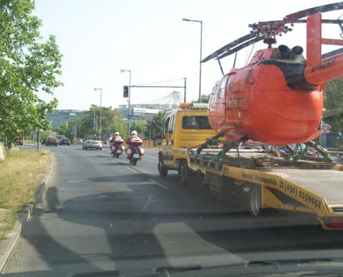 Hubschrauber Transport