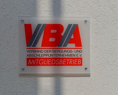 Steinbock & Sohn ist Mitglied bei der VBA
