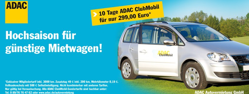 ADAC 10 Tage Angebot