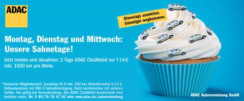 ADAC Clubmobil Sahnetage