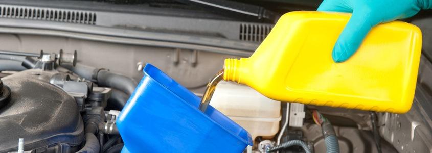 Ölwechsel bei Steinbock & Sohn