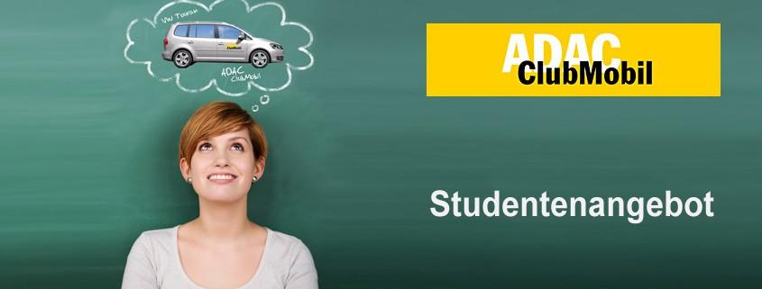ADAC Clubmobil Studentenangebot
